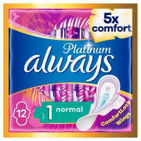 Always Platinum Pads Ultra Normal Size 1