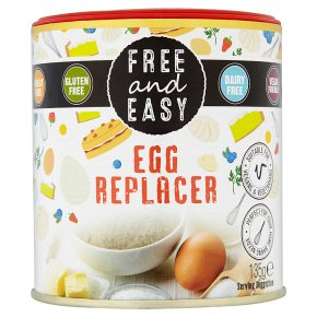 Free and Easy Egg Replacer