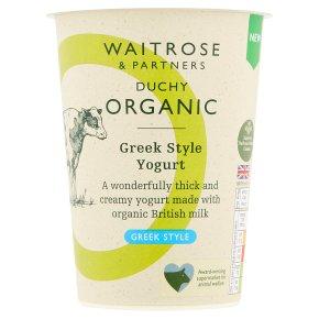 Duchy Organic Greek Style Natural Yogurt