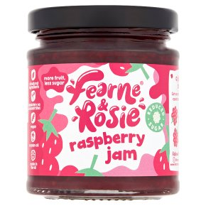 Fearne & Rosie Reduced Sugar Raspberry Jam