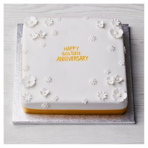 Gold Celebration Cake