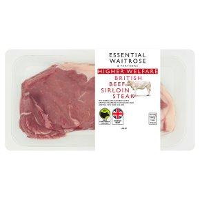 Essential British Beef Sirloin Steak