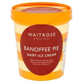 Waitrose Banoffee Pie Ice Cream