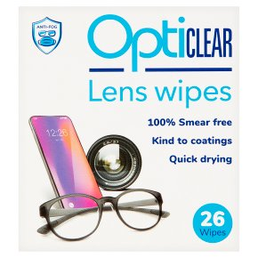 Opticlear Lens Wipes