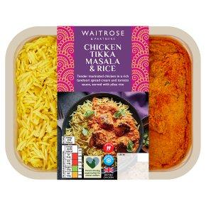 Waitrose Indian Chicken Tikka Masala with Pilau Rice