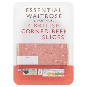 Essential 4 Slices British Corned Beef