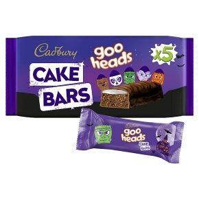 Cadbury Goo Heads Cake Bars