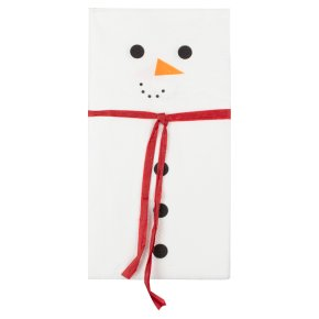 Ginger Ray Snowman Paper Napkins 16 Pack