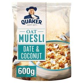 Quaker Date & Coconut Oat Muesli
