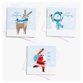 John Lewis Christmas Santa & Friends
