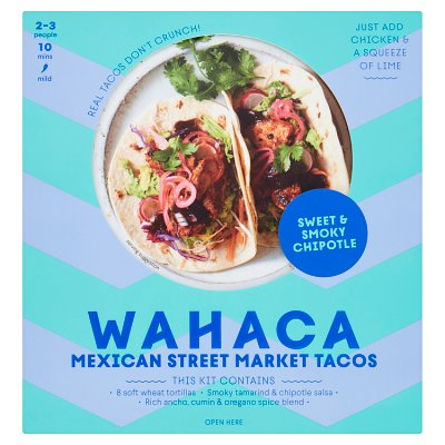 Wahaca Sweet Smoky Taco Kit Waitrose Partners