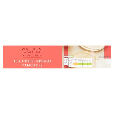 Waitrose Chinese 10 Chinese Inspired Pancakes Waitrose Partners